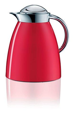 Alfi 3551.202.100 Théière Isotherme Gusto Tea, 1 L, Métal, 16,6 x 20 x 22 cm, Rouge feu