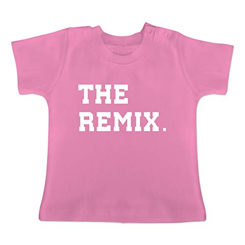 Partner-Look Familie Baby - The Original The Remix Kind - 18-24 Monate - Pink - BZ02 - Baby T-Shirt Kurzarm