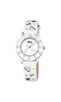 Lotus 18271/1 - Reloj de pulsera de cuarzo analógico unisex, piel