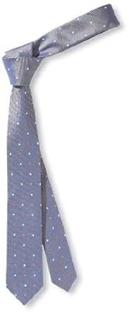 s.Oliver BLACK LABEL Herren Krawatte 12.304.91.4008, Gr. one size, Blau (5490)