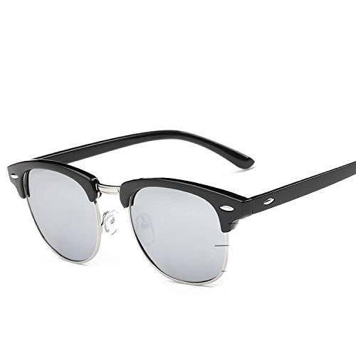 Sport-Sonnenbrillen, Vintage Sonnenbrillen, Uv400 Sunglasses Men Women Luxury Vintage Semi-Rimless Fashion Mirror Shades Rays Sun Glasses