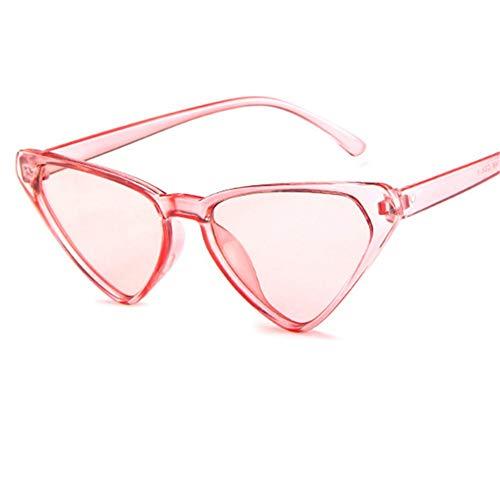 ZHOUYF Sonnenbrille Fahrerbrille Übergroße Sonnenbrille Frauen 90Er Jahre Cat Eye Sonnenbrille Weibliche Vintage Sexy Dreieck Brille, D