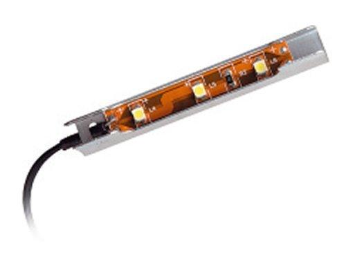 SO-TECH® LED Clip rein weiß für Glaskantenbeleuchtung Glasbodenbeleuchtung Vitrinenbeleuchtung Glasplattenbeleuchtung