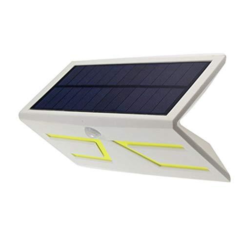 LED Solarleuchte Außen Wasserdichte Solarbetriebene Lampe Solarlicht für Garten, Terrasse, Auffahrt, Pfad, Hof, Balkon - 1 Stück