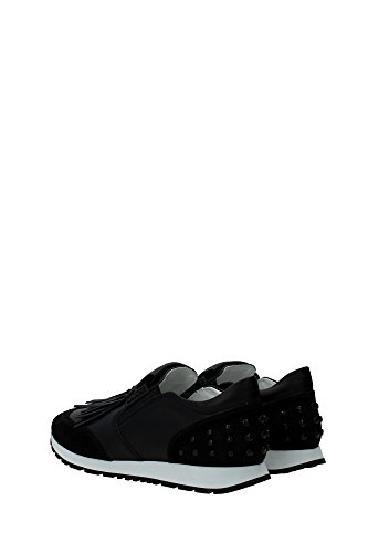 XXW0YO0P250CNFB999 Tod's Sneakers Femme Cuir Noir Noir