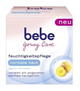 Bebe Young Care Intensivpflege für normale Haut Tagescreme 50ml NEU Versorgt die Haut mit Feuchtigkeit und Pflege mit Pfirsichöl...