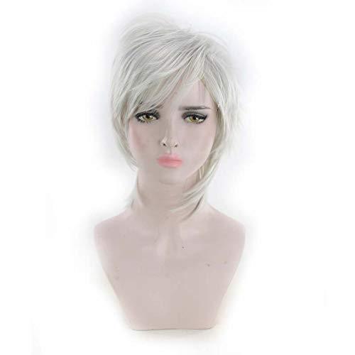 Cosplay gewellte Perücke für den ganzen Kopf, blondes Haar, Anime, Cosplay, Kostüm, Party, Halloween, Cosplay (Halloween-kostüme Uk Dirty)