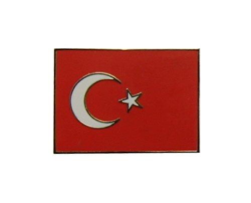 Yantec Flaggenpin Türkei rechteckig Pin Anstecknadel Fahnenpin