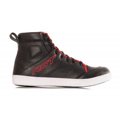 RST 1635 Urban ll Boot Black/Red 47 12 Mens Street Motorcycle Boots