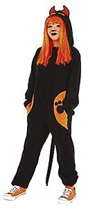 Haunted House- Gato Negro Disfraz Kigu Black Cat Inf (Rubies S8531-L)