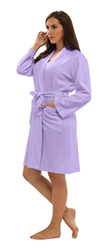 KATE-MORGAN-Ladies-Cotton-Waffle-Robe-Dressing-Gown