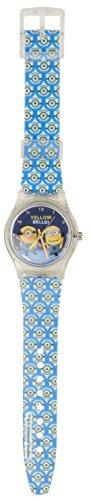 Reloj de Los Minions con correa azul