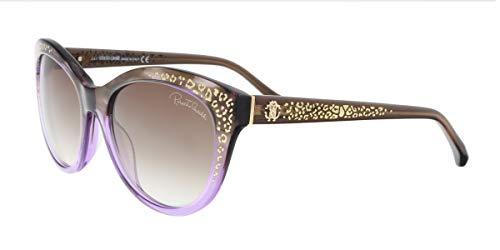 Roberto Cavalli Damen Sonnenbrille, Purple, 55