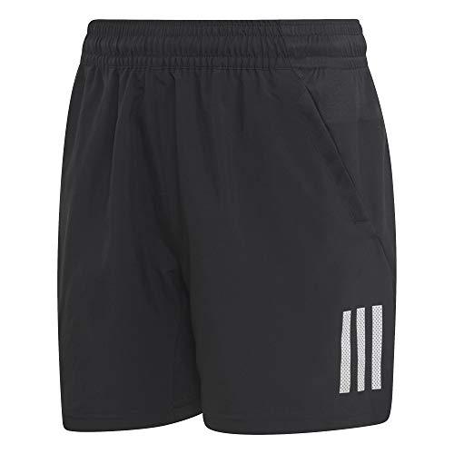 adidas Jungen Club 3-Streifen Shorts Black/White 164
