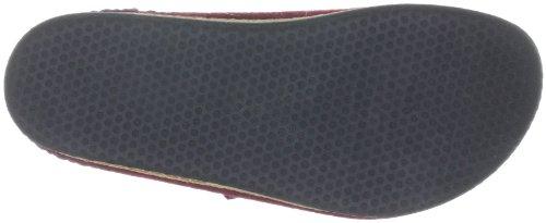 Stegmann 108 Unisex-Erwachsene Pantoffeln Rot (8806 aubergine)