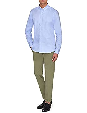 FAY SHIRT WITH BUTTON DOWN COLLAR, Hombre.