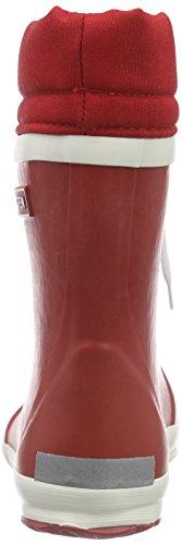 Bergstein Bn Winterbootr, Bottes mi-hautes en caoutchouc avec doublure chaude mixte enfant Rouge - Rouge