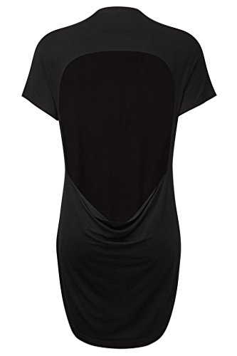 Killstar T-Shirt Fact Open-Back T-Shirt Black