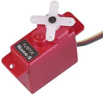 Unbekannt Multiplex Mini-Servo Nano-S Analog-Servo Getriebe-Material: Kunststoff Stecksystem: JR (Servo-getriebe)