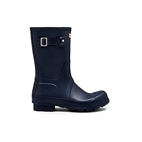 New Hunter Men?s Original Short Wellington Boots ? Navy - 10