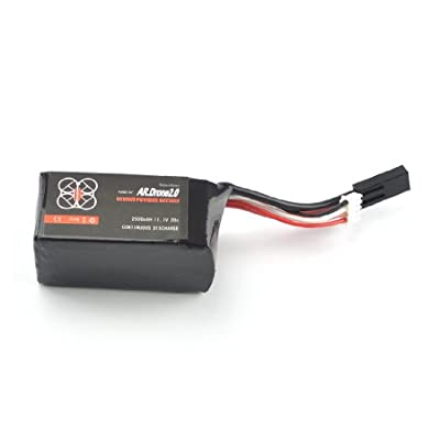 Parrot 2500mAH 11.1V 20C LiPo Powerful Battery for Parrot AR.Drone 2.0/1.0 Quadrocopter