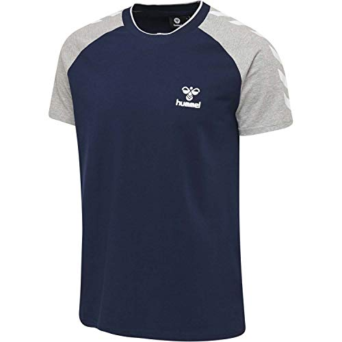 Hummel Herren T-Shirt Mark 206410 Black Iris L