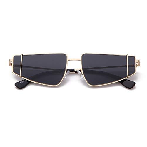ZRTYJ Sonnenbrille 90 s cat Eye Sonnenbrille Frauen metallrahmen markendesigner Vintage Retro cateye Sonnenbrille Dame weibliche Shades