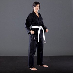 Blitz Sport Adult Polycotton Student Karate Suit 6/190cm Black