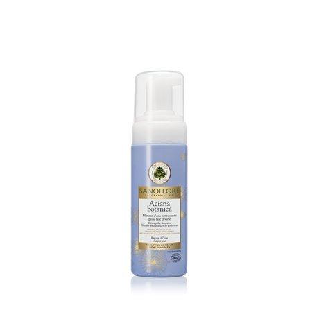 sanoflore-schiuma-dacqua-pulizia-aciana-botanica-150ml