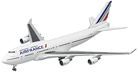 Herpa 523271-001 - Air France Boeing 747-400 Last 747, Miniaturfahrzeuge