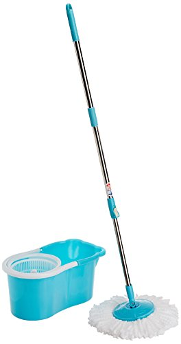 Gala Aqua Spin 151617 Mop (Aqua Blue and White)