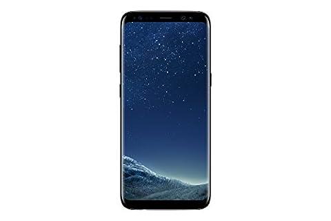 Samsung Galaxy S8 Smartphone débloqué 4G (Ecran : 5,8 pouces - 64 Go - 4 Go RAM - Simple Nano-SIM - Android Nougat 7.0) Noir Carbone