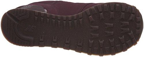 New Balance 574, Sneaker Donna Rosso (Purple Supernova Red)