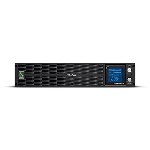 Cyberpower PR2200ELCDRTXL2U UPS Stromversorgung (19 Zoll, 1650 - Batterien Cyberpower