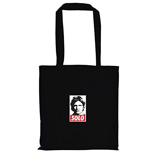 TEXLAB - SW: Solo - Stoffbeutel, schwarz (Prinzessin Leia Jabba The Hutt Kostüm)