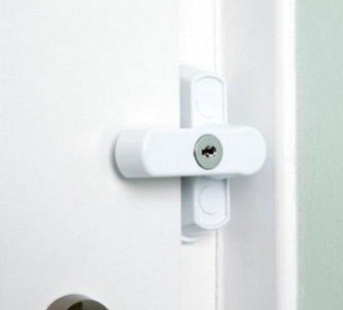 HomeSecure HS2861Sicherheitsschloss-Satz-Weiß