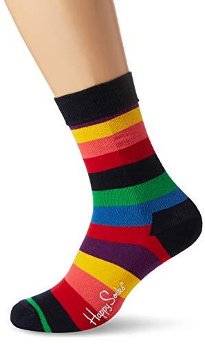 Happy Socks Herren STR01-Stripe Sock, 1er Pack, Mehrfarbig (Blau 6001), One Size (Herstellergröße: 41-46)