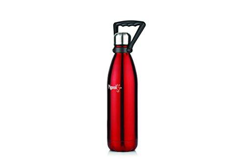 Pigeon Aqua Stainless Steel Water Bottle, 750ml, Red