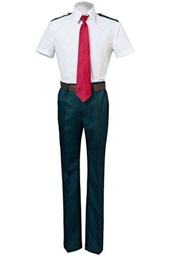 Boku no Hero Academia My Hero Academia Izuku Midoriya Shoto Todoroki Katsuki Bakugou Akademia Izuku Sommeruniform Cosplay Kostüm Herren - Schuluniform Kostüm Junge