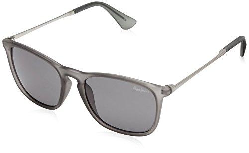 Pepe Jeans UV protected Wayfarer Unisex Sunglasses (PJ7276C3|54 millimeters|Grey)