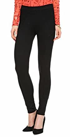 s.Oliver BLACK LABEL Damen Skinny Legging 11.401.75.5233, Gr. 46, Schwarz (pure black)