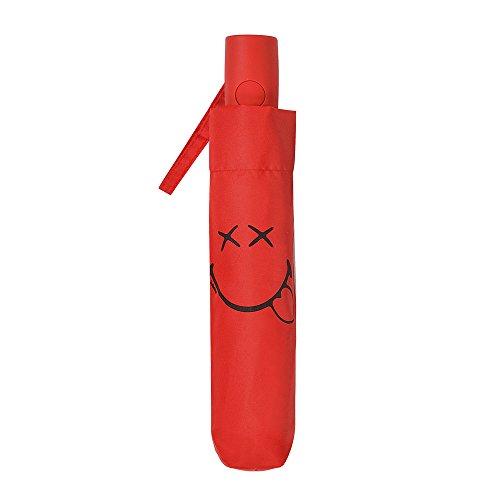 Smiley - Paraguas plegable mediano - Automático -