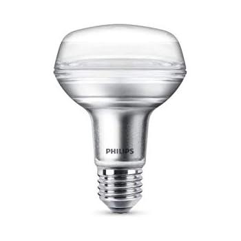 Philips LEDclassic Lampe, ersetzt 40W, E27, R63, Warmweiß