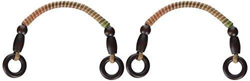 Wachs Code Griff Holz Bälle · Ring Eiche braun Typ Gradation 38 cm (Eiche-ball)