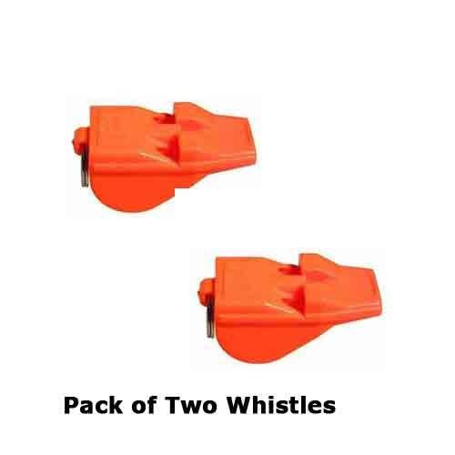 Preisvergleich Produktbild Acme Tordnady Day Pfeife,  Orange,  die lauteste Pfeife der Welt,  2 Stück
