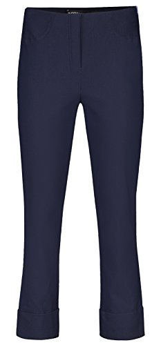 Robell Bella Slim Fit 7/8 Stretchhosen Schlupfhosen Damen Hosen #Bella versch.Farben Marine