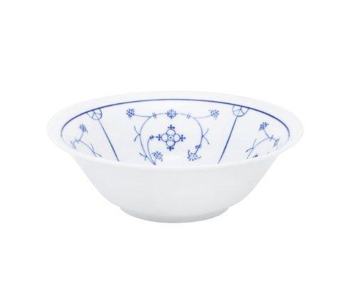 Kahla - Porcelaine pour les Sens 462901A75019H Saks Tradition Plat de Service Bleu/Blanc 16 cm