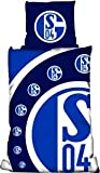 S04 / Schalke 04 Bettwäsche Linon CUT