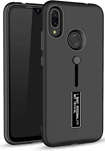 Wellpoint Designed for|Realme 3 Pro Back Cover|Realme 3 Pro Case |Realme 3 Pro Cover|Realme 3 Pro Back Case Cover (Dark Black)