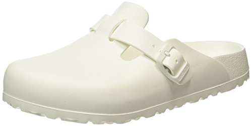 Birkenstock Classic Unisex-Erwachsene Boston Eva Clogs, Weiß (White), 36 EU